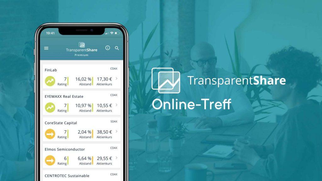 TransparentShare - online meeting point