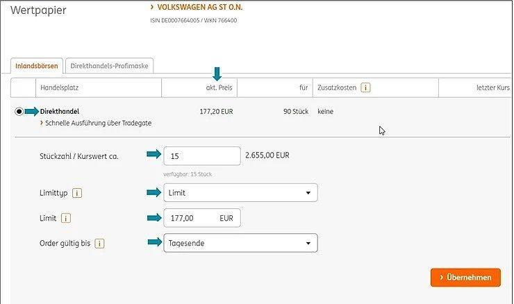 TransparentShare - Wie Aktien kaufen