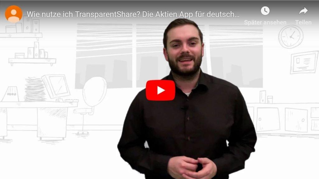 TransparentShare - Wie funktionert TransparentShare