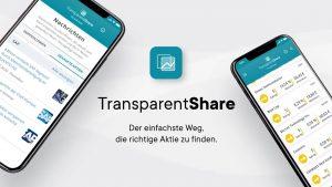 TransparentShare - der einfachste Weg die richtige Aktie zu finden